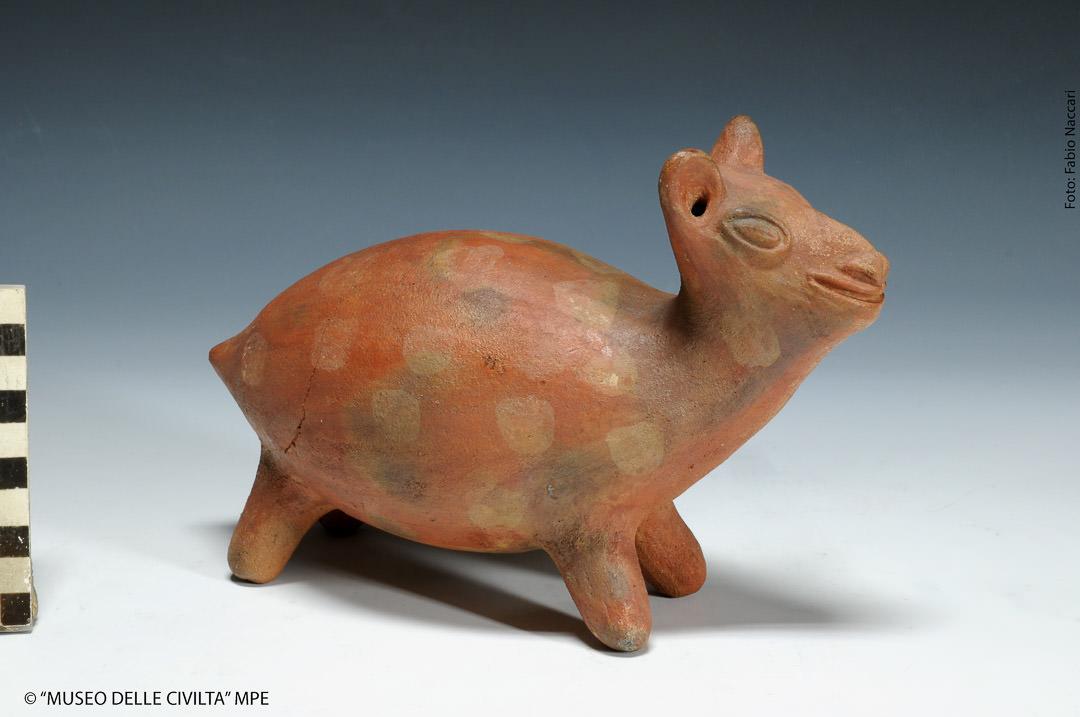 Lama in ceramica.