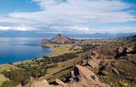 Vista di Santiago de Okola (Stato Plurinazionale di Bolivia).