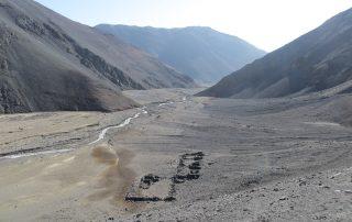 Sito archeologico Tambo de la Sal. Tratto: Portal del Inca - Finca Chañaral. Regione di Atacama, Cile.