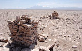 Costruzioni in pietra con funzione demarcatrice, settore Alto Loa.