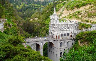 Santuario di Las Lajas, Ipiales, Nariño, Colombia.