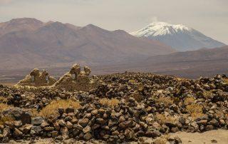 Sito archeologico e kallanka di Turi. Tratto: Cupo - Catarpe. Regione di Antofagasta, Cile.