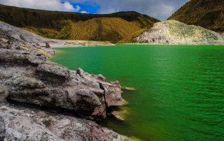 Laguna Verde, Nariño, Colombia.