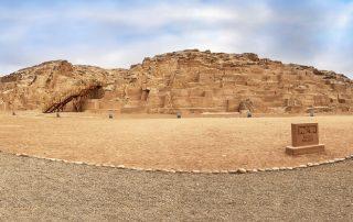 Piramidi del complesso archeologico Mateo Salado, Perù.