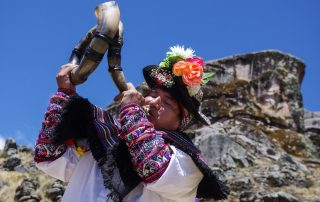 "Festività nel sito archeologico ""Incahuasi de Huaytará"""